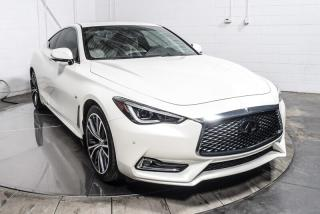 Used 2017 Infiniti Q60 Q60 3.0T AWD CUIR TOIT OUVRANT MAGS 19 P for sale in St-Hubert, QC