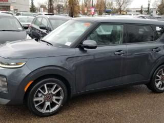New 2020 Kia Soul EX LIMITED; ADVANCED SAFTEY, NAV, BLUETOOTH, BACKUP CAM, SUNROOF AND MORE for sale in Edmonton, AB