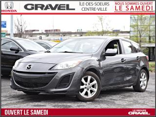 Used 2011 Mazda MAZDA3 Sport Gx - A/c for sale in Ile-des-Soeurs, QC
