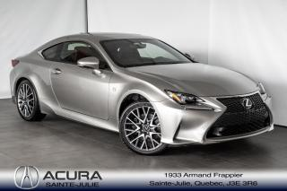 Used 2015 Lexus RC 350 F Sport Awd Gps for sale in Ste-Julie, QC