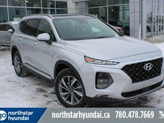 New 2019 Hyundai Santa Fe LUX: LEATHER/SUNROOF/BLUELINK/COOLED SEATS/SMART LIFTGATE for sale in Edmonton, AB