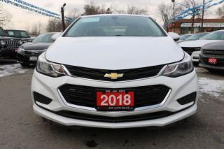 Used 2018 Chevrolet Cruze LT for sale in Brampton, ON