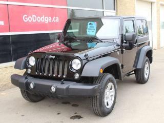 Used 2018 Jeep Wrangler JK Sport for sale in Edmonton, AB