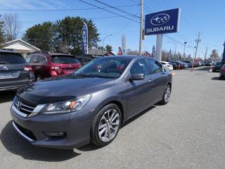 Used 2014 Honda Accord Sport I4 4 portes CVT for sale in Victoriaville, QC