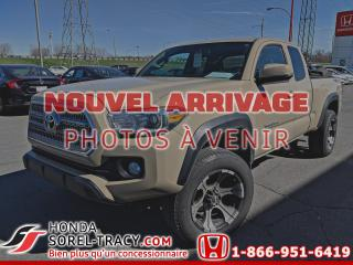 Used 2017 Toyota Tacoma Tacoma TRD Cabine Accès for sale in Sorel-Tracy, QC