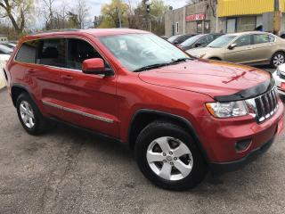 Used 2011 Jeep Grand Cherokee LAREDO/ 4WD/ NAVI/ REVERSE CAM/ LEATHER/ LIKE NEW! for sale in Scarborough, ON