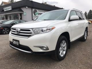 Used 2013 Toyota Highlander BASE for sale in Bloomingdale, ON