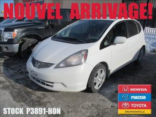 Used 2014 Honda Fit Lx +a/c+cruisectrl+b for sale in Drummondville, QC