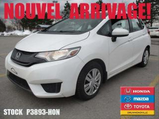 Used 2015 Honda Fit Lx +a/c+vitre for sale in Drummondville, QC