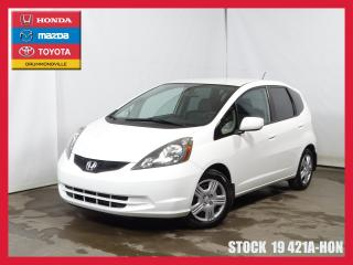Used 2014 Honda Fit Lx+a/c+regvit+blueto for sale in Drummondville, QC