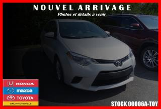 Used 2014 Toyota Corolla Le Sièges Chauff for sale in Drummondville, QC