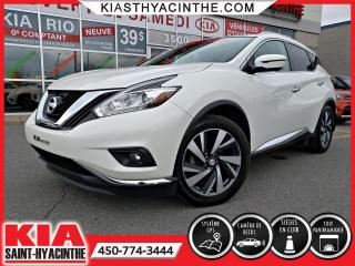 Used 2016 Nissan Murano PLATINUM AWD ** TOIT PANO / NAVI for sale in St-Hyacinthe, QC