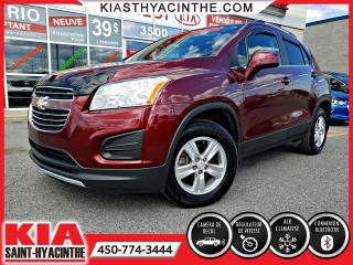 Used 2016 Chevrolet Trax LT AWD ** CAMÉRA DE RECUL + A/C for sale in St-Hyacinthe, QC
