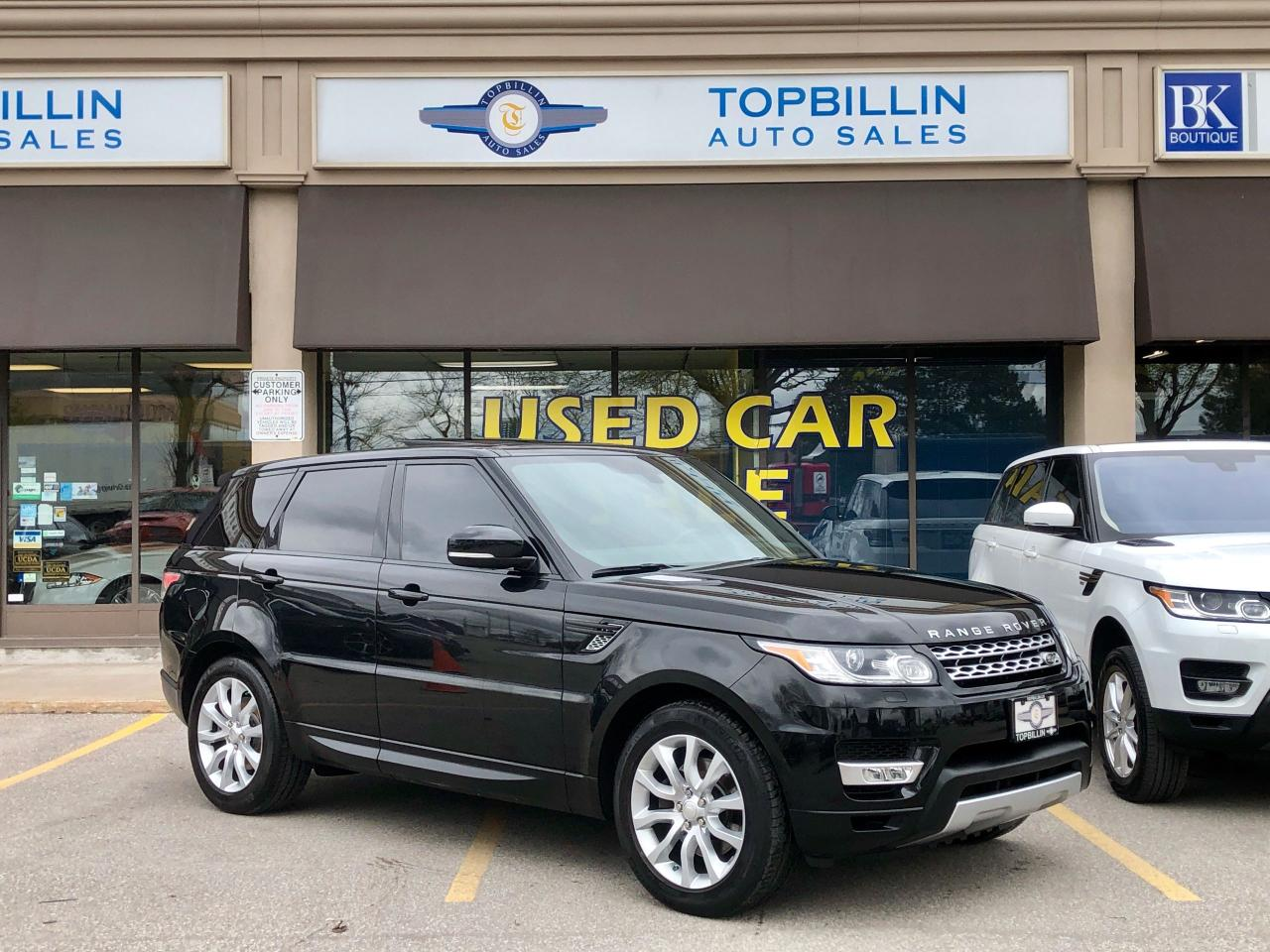Used 2014 Land Rover Range Rover Sport HSE, Fully Loaded, Navi, DVDs