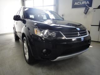 Used 2007 Mitsubishi Outlander XLS ,LEATHER,ROOF,4X4,NO ACCIDENT for sale in North York, ON