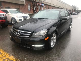 Used 2014 Mercedes-Benz C-Class C 300, 4MATIC, NAV, REAR VIEW CAMERA for sale in North York, ON