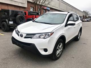 Used 2014 Toyota RAV4 LE, AWD, REAR VIEW CAMERA for sale in North York, ON