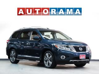 Used 2014 Nissan Pathfinder SL BACK UP CAMERA 4WD LEATHER 7 PASSENGER for sale in Toronto, ON