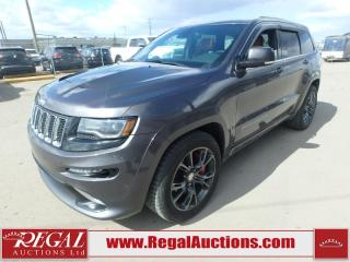 Used 2015 Jeep Grand Cherokee SRT 4D Utility AWD 6.4L for sale in Calgary, AB