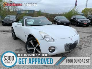 Used 2007 Pontiac Solstice | LEATHER | RARE CAR!! for sale in London, ON