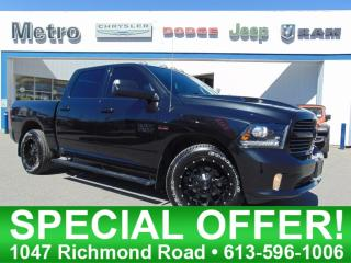 Used 2016 RAM 1500 Sport - Custom Rims for sale in Ottawa, ON