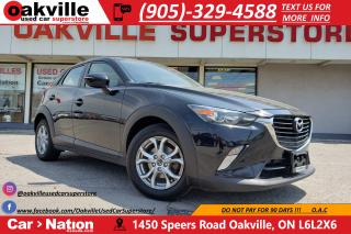Used 2016 Mazda CX-3 GS | NAV | B/U CAM | SUNROOF | BLUETOOTH for sale in Oakville, ON