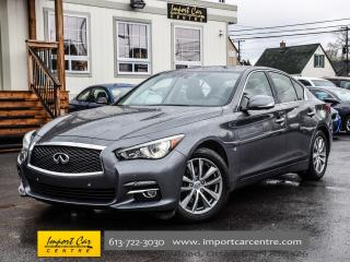 Used 2015 Infiniti Q50 NAV & DELUXE TOURING BLIS 360 CAM WOW!! for sale in Ottawa, ON