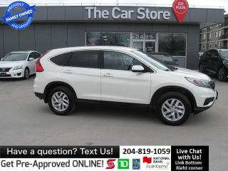 Used 2015 Honda CR-V SE - CLEAN TITLE htd seat BLUETOOTH 1owner backcam for sale in Winnipeg, MB