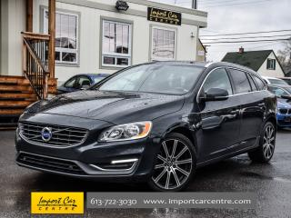 Used 2015 Volvo V60 AWD T6 300HP SPORT SEATS BLIS 18 ALLOYS WOW!! for sale in Ottawa, ON