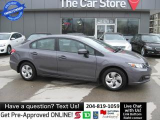 Used 2014 Honda Civic Sedan LX NO ACCIDENTS! HEATED SEAT bluetooth 1owner for sale in Winnipeg, MB
