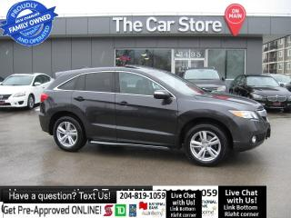 Used 2015 Acura RDX Tech Pkg NAVIGATION leather SUNROOF backcam 1OWNER for sale in Winnipeg, MB
