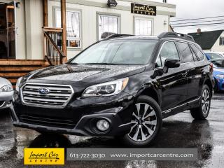 Used 2015 Subaru Outback 3.6R w/Limited Pkg EYESIGHT NAV BK.CAM HK WOW!! for sale in Ottawa, ON