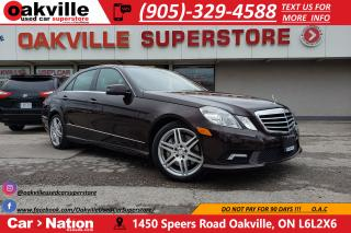 Used 2010 Mercedes-Benz E-Class E550 4MATIC | NAV | PANO | VERY LOW KM | RARE for sale in Oakville, ON