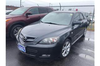 Used 2007 Mazda MAZDA3 GT for sale in Burlington, ON
