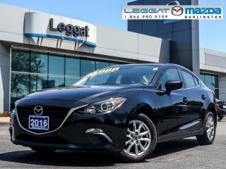 Used 2016 Mazda MAZDA3 GS- AUTOMATIC, BLUETOOTH, HEATED SEATS for sale in Burlington, ON