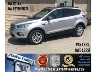 Used 2018 Ford Escape SE *AWD/Bluetooth/Htd Seats/Backup Cam for sale in Winnipeg, MB