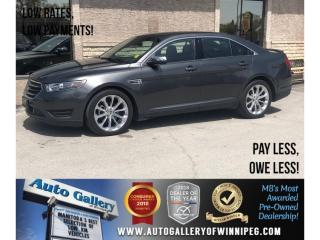 Used 2018 Ford Taurus Limited *AWD/Htd Lthr/Roof/Navi/V6 for sale in Winnipeg, MB