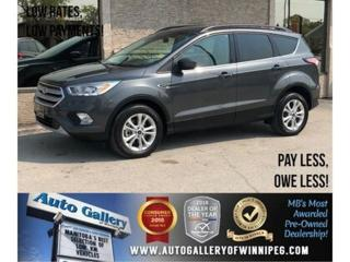 Used 2018 Ford Escape SEL *AWD/Htd Lthr/Navi/Bluetooth for sale in Winnipeg, MB