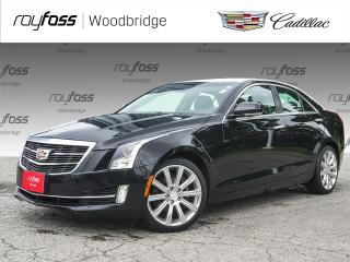 Used 2015 Cadillac ATS Premium AWD, V6, SUNROOF, NAV, HUD for sale in Woodbridge, ON