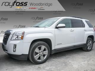 Used 2015 GMC Terrain SLT SUNROOF, LEATHER, NAV, PIONEER for sale in Woodbridge, ON
