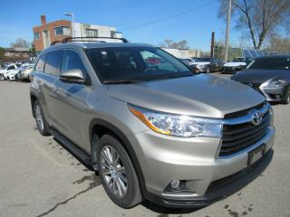 Used 2015 Toyota Highlander XLE - NO ACCIDENTS, ONE OWNER for sale in Toronto, ON