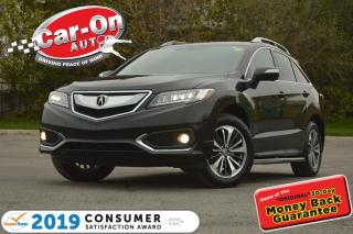 Used 2016 Acura RDX Elite Package AWD LEATHER NAV SUNROOF LOADED for sale in Ottawa, ON