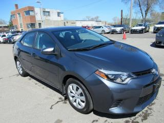 Used 2015 Toyota Corolla LE - NO ACCIDENTS, ONE OWNER for sale in Toronto, ON