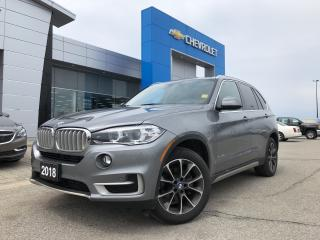 Used 2018 BMW X5 xDrive35i for sale in Barrie, ON
