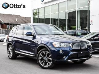 Used 2016 BMW X3 xDrive35i NAVI ROOF LOADED for sale in Ottawa, ON