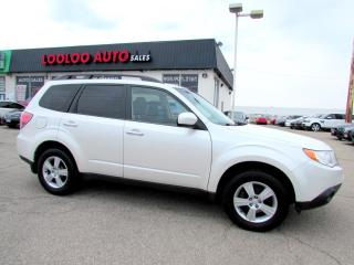Used 2010 Subaru Forester 2.5X Premium Remote Start AWD PANORAMIC SUNROOF CERTIFIED for sale in Milton, ON