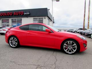 Used 2014 Hyundai Genesis Coupe Coupe 2.0 Turbo 6 Speed Manual Bluetooth Certified 2YR Warranty for sale in Milton, ON