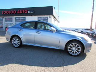 Used 2008 Lexus IS IS 250 AWD LEATHER SUNROOF CERTIFIED for sale in Milton, ON
