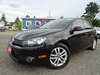 Used 2011 Volkswagen Golf Highline TDI 6SPD Leather Sunroof Certified for sale in Guelph, ON