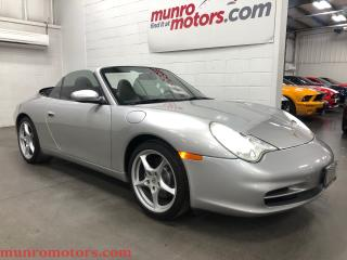 Used 2002 Porsche 911 Carrera Cabriolet w/Hardtop Leather 6 speed for sale in St. George Brant, ON